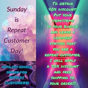 Dresses & Skirts - Repeat Customer Day! 40% off entire order!